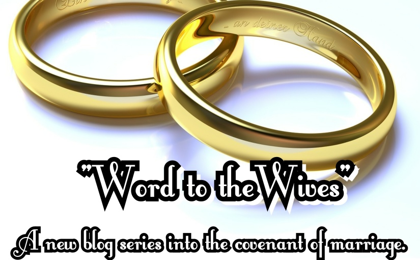 """""""Word to the Wives""""- NEWSERIES"""